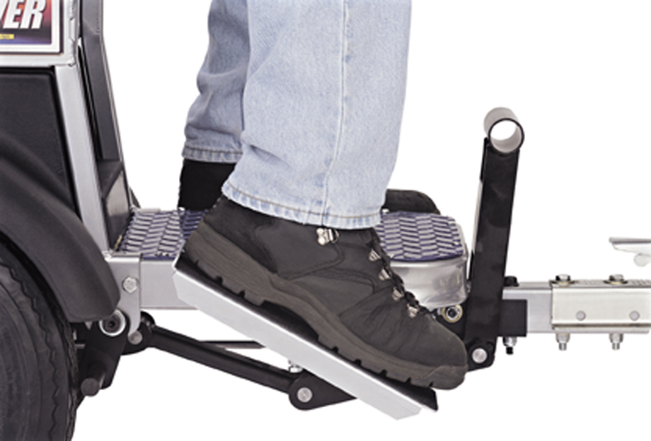 Graco Linedriver pedal forwards